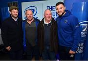 12 January 2019; Guests in The Blue Room with Leinster's Fergus McFadden and Robbie Henshaw prior to the Heineken Champions Cup Pool 1 Round 5 match between Leinster and Toulouse at the RDS Arena in Dublin. Photo by Seb Daly/Sportsfile