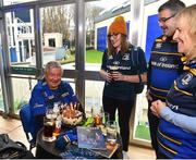 12 January 2019; Guests in The Blue Room prior to the Heineken Champions Cup Pool 1 Round 5 match between Leinster and Toulouse at the RDS Arena in Dublin. Photo by Seb Daly/Sportsfile