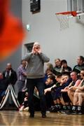 12 January 2019; Garvey's Tralee Warriors head coach Pat Price during the Hula Hoops Men's Pat Duffy National Cup semi-final match between Pyrobel Killester and Garvey's Tralee Warriors at the Mardyke Arena UCC in Cork.  Photo by Brendan Moran/Sportsfile