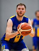 12 January 2019; Mike Garrow of UCD Marian during the Hula Hoops Men's Pat Duffy National Cup semi-final match between UCD Marian and Belfast Star at the Mardyke Arena UCC in Cork.  Photo by Brendan Moran/Sportsfile