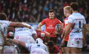 12 January 2019; Jacob Stockdale of Ulster during the Heineken Champions Cup Pool 4 Round 5 match between Ulster and Racing 92 at the Kingspan Stadium in Belfast, Co. Antrim. Photo by David Fitzgerald/Sportsfile