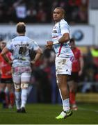 12 January 2019; Simon Zebo of Racing 92 during the Heineken Champions Cup Pool 4 Round 5 match between Ulster and Racing 92 at the Kingspan Stadium in Belfast, Co. Antrim. Photo by David Fitzgerald/Sportsfile