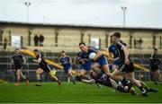 13 January 2019; Donie Smith of Roscommon in action against John Francis Carr of Sligo during the Connacht FBD League semi-final match between Roscommon and Sligo at Dr. Hyde Park in Roscommon. Photo by David Fitzgerald/Sportsfile