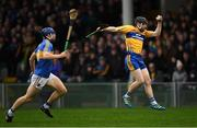 13 January 2019; Michael O'Neill of Clare in action against Jason Forde of Tipperary during the Co-Op Superstores Munster Hurling League Final 2019 match between Clare and Tipperary at the Gaelic Grounds in Limerick. Photo by Piaras Ó Mídheach/Sportsfile