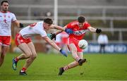 13 January 2019; Jack Doherty of Derry in action against Brian Kennedy of Tyrone during the Bank of Ireland Dr McKenna Cup semi-final match between Tyrone and Derry at the Athletic Grounds in Armagh. Photo by Sam Barnes/Sportsfile