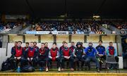 13 January 2019; The Roscommon bench watch on during the Connacht FBD League semi-final match between Roscommon and Sligo at Dr. Hyde Park in Roscommon. Photo by David Fitzgerald/Sportsfile
