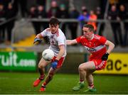 13 January 2019; Darragh Canavan of Tyrone in action against Sean Quinn of Derry during the Bank of Ireland Dr McKenna Cup semi-final match between Tyrone and Derry at the Athletic Grounds in Armagh. Photo by Sam Barnes/Sportsfile