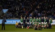 12 January 2019; The Meath team have their photo taken ahead of the Bord na Mona O'Byrne Cup semi-final match between Dublin and Meath at Parnell Park in Dublin. Photo by Sam Barnes/Sportsfile