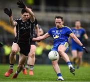 13 January 2019; Niall Kilroy of Roscommon in action against Nathan Mullen of Sligo during the Connacht FBD League semi-final match between Roscommon and Sligo at Dr. Hyde Park in Roscommon. Photo by David Fitzgerald/Sportsfile