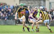 13 January 2019; Tommy Walsh of Kilkenny during the Bord na Mona Walsh Cup semi-final match between Wexford and Kilkenny at Bellefield in Wexford. Photo by Matt Browne/Sportsfile