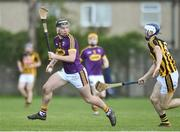 13 January 2019; Conor McDonald of Wexford in action against Huw Lawlor of Kilkenny during the Bord na Mona Walsh Cup semi-final match between Wexford and Kilkenny at Bellefield in Wexford. Photo by Matt Browne/Sportsfile