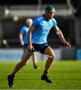 13 January 2019; Chris Crummey of Dublin during the Bord na Mona Walsh Cup semi-final match between Dublin and Galway at Parnell Park in Dublin.  Photo by Ramsey Cardy/Sportsfile
