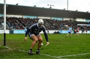 13 January 2019; Alan Nolan of Dublin during the Bord na Mona Walsh Cup semi-final match between Dublin and Galway at Parnell Park in Dublin.  Photo by Ramsey Cardy/Sportsfile