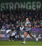 12 January 2019; Denis Buckley of Connacht runs out prior to the Heineken Challenge Cup Pool 3 Round 5 match between Connacht and Sale Sharks at the Sportsground in Galway. Photo by Harry Murphy/Sportsfile