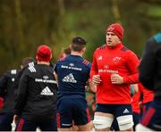 14 January 2019; CJ Stander during Munster Rugby training at University of Limerick in Limerick. Photo by Seb Daly/Sportsfile
