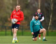 14 January 2019; Roray Scannell during Munster Rugby training at University of Limerick in Limerick. Photo by Seb Daly/Sportsfile