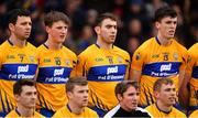 13 January 2019; Clare players pose for their team photograph before the Co-Op Superstores Munster Hurling League Final 2019 match between Clare and Tipperary at the Gaelic Grounds in Limerick. Photo by Piaras Ó Mídheach/Sportsfile