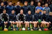 13 January 2019; Tipperary players pose for their team photograph before the Co-Op Superstores Munster Hurling League Final 2019 match between Clare and Tipperary at the Gaelic Grounds in Limerick. Photo by Piaras Ó Mídheach/Sportsfile