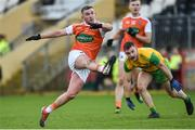 13 January 2019; Ryan McShane of Armagh during the Bank of Ireland Dr McKenna Cup semi-final match between Donegal and Armagh at Healy Park in Tyrone. Photo by Oliver McVeigh/Sportsfile