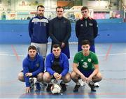14 January 2019; Fairview Rangers during the FAI Late Nite League at Factory Youth Space, in Southill, Limerick. Photo by Seb Daly/Sportsfile