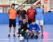 14 January 2019; Dona FC during the FAI Late Nite League at Factory Youth Space, in Southill, Limerick. Photo by Seb Daly/Sportsfile