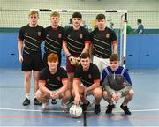14 January 2019; Caledonians during the FAI Late Nite League at Factory Youth Space, in Southill, Limerick. Photo by Seb Daly/Sportsfile