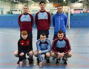 14 January 2019; Hyde Rangers during the FAI Late Nite League at Factory Youth Space, in Southill, Limerick. Photo by Seb Daly/Sportsfile
