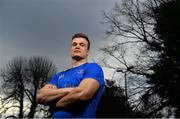 15 January 2019; Josh van der Flier poses for a portrait ahead of a Leinster Rugby press conference at Leinster Rugby Headquarters in Dublin. Photo by Ramsey Cardy/Sportsfile