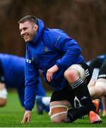 15 January 2019; Seán O'Brien during Leinster Rugby squad training at Rosemount in UCD, Dublin. Photo by Ramsey Cardy/Sportsfile