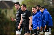 15 January 2019; Jack McGrath during Leinster Rugby squad training at Rosemount in UCD, Dublin. Photo by Ramsey Cardy/Sportsfile