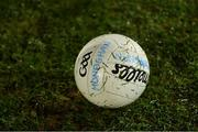 9 January 2019; A general view of a football before the Bank of Ireland Dr McKenna Cup Round 3 match between Armagh and Monaghan at the Athletic Grounds in Armagh. Photo by Piaras Ó Mídheach/Sportsfile