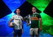 16 January 2019; The inter-county famine is about to end, giving way to a nine-week feast of Allianz Football League action between the weekend after next and the four divisional finals in Croke Park on March 30/31. The exciting programme features 116 games across the four divisions in a campaign which will mark the 27th year of Allianz' partnership with the GAA as sponsor of the Allianz Leagues, making it one of the longest-running sponsorships in Irish sport. In attendance at the Allianz Football League 2019 launch in Dublin are Ryan Wylie of Monaghan, left, and Stephen O'Brien of Kerry. Photo by Brendan Moran/Sportsfile