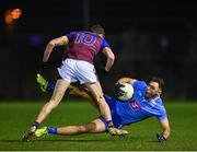 16 January 2019; David Toner of Dublin Institute of Technology in action against Fionn McDonagh of University of Limerick during the Electric Ireland Sigerson Cup Round 1 match between Dublin Institute of Technology and University of Limerick at Grangegorman in Dublin. Photo by Seb Daly/Sportsfile