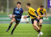 17 January 2019; Leon Gallagher of Newpark Comprehensive during the Bank of Ireland Vinnie Murray Cup Round 2 match between The Kings Hospital and Newpark Comprehensive at Energia Park in Dublin. Photo by Eóin Noonan/Sportsfile