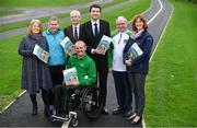 21 January 2019; Attendees, from left, Rosemary Keogh, IWA CEO, Edele Armstrong, Special Olympic Athlete, John Treacy, CEO Sport Ireland, Declan Slevin, IWA, Minister of State  Brendan Griffin, Joe Geraghty, Vision Sport Ireland, Una May, Sport Ireland, during the Great Outdoors - A Guide for Accessibility event at the Sport Ireland National Sports Campus in Dublin. Photo by Sam Barnes/Sportsfile