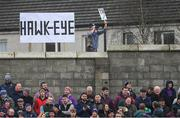 19 January 2019; Unofficial Hawkeye 'in operation' during the Bord na Mona Walsh Cup Final match between Wexford and Galway at Bellefield in Enniscorthy, Wexford. Photo by Piaras Ó Mídheach/Sportsfile