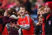 19 January 2019; Charleville fans react to a late score during the AIB GAA Hurling All-Ireland Intermediate Championship semi-final match between Graigue-Ballycallan and Charleville at Semple Stadium in Tipperary. Photo by David Fitzgerald/Sportsfile