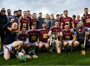 19 January 2019; Westmeath players following victory over Antrim during the Bord na Mona Kehoe Cup Final match between Westmeath and Antrim at the GAA Games Development Centre in Abbotstown, Dublin. Photo by Stephen McCarthy/Sportsfile