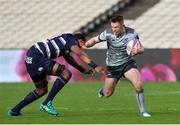 19 January 2019; Matt Healy of Connacht is tackled by Cameron Woki of Bordeaux Begles during the Heineken Challenge Cup Pool 3 Round 6 match between Bordeaux Begles and Connacht at Stade Chaban Delmas in Bordeaux, France. Photo by Manuel Blondeau/Sportsfile