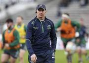 19 January 2019; Connacht head coach Andy Friend prior to the Heineken Challenge Cup Pool 3 Round 6 match between Bordeaux Begles and Connacht at Stade Chaban Delmas in Bordeaux, France. Photo by Manuel Blondeau/Sportsfile