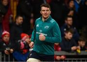 19 January 2019; Peter O'Mahony of Munster prior to the Heineken Champions Cup Pool 2 Round 6 match between Munster and Exeter Chiefs at Thomond Park in Limerick. Photo by Diarmuid Greene/Sportsfile