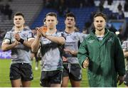 19 January 2019; Connacht players acknowledge supporters following the Heineken Challenge Cup Pool 3 Round 6 match between Bordeaux Begles and Connacht at Stade Chaban Delmas in Bordeaux, France. Photo by Manuel Blondeau/Sportsfile