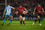 19 January 2019; CJ Stander of Munster in action against Nic White of Exeter Chiefs during the Heineken Champions Cup Pool 2 Round 6 match between Munster and Exeter Chiefs at Thomond Park in Limerick. Photo by Diarmuid Greene/Sportsfile
