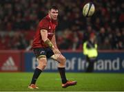 19 January 2019; Peter O'Mahony of Munster during the Heineken Champions Cup Pool 2 Round 6 match between Munster and Exeter Chiefs at Thomond Park in Limerick. Photo by Diarmuid Greene/Sportsfile
