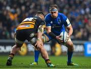 20 January 2019; Rhys Ruddock of Leinster in action against Zurabi Zhvania of Wasps during the Heineken Champions Cup Pool 1 Round 6 match between Wasps and Leinster at the Ricoh Arena in Coventry, England. Photo by Ramsey Cardy/Sportsfile