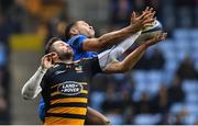 20 January 2019; Adam Byrne of Leinster in action against Elliot Daly of Wasps during the Heineken Champions Cup Pool 1 Round 6 match between Wasps and Leinster at the Ricoh Arena in Coventry, England. Photo by Ramsey Cardy/Sportsfile