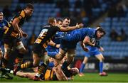 20 January 2019; James Ryan of Leinster is tackled by Zurabi Zhvania of Wasps during the Heineken Champions Cup Pool 1 Round 6 match between Wasps and Leinster at the Ricoh Arena in Coventry, England. Photo by Ramsey Cardy/Sportsfile