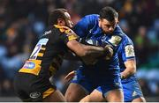 20 January 2019; Robbie Henshaw of Leinster is tackled by Gaby Lovobalavu of Wasps during the Heineken Champions Cup Pool 1 Round 6 match between Wasps and Leinster at the Ricoh Arena in Coventry, England. Photo by Ramsey Cardy/Sportsfile