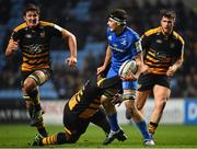 20 January 2019; Max Deegan of Leinster is tackled by Ashley Johnson of Wasps during the Heineken Champions Cup Pool 1 Round 6 match between Wasps and Leinster at the Ricoh Arena in Coventry, England. Photo by Ramsey Cardy/Sportsfile