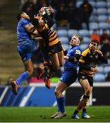 20 January 2019; Adam Byrne of Leinster in action against Marcus Watson of Wasps during the Heineken Champions Cup Pool 1 Round 6 match between Wasps and Leinster at the Ricoh Arena in Coventry, England. Photo by Ramsey Cardy/Sportsfile
